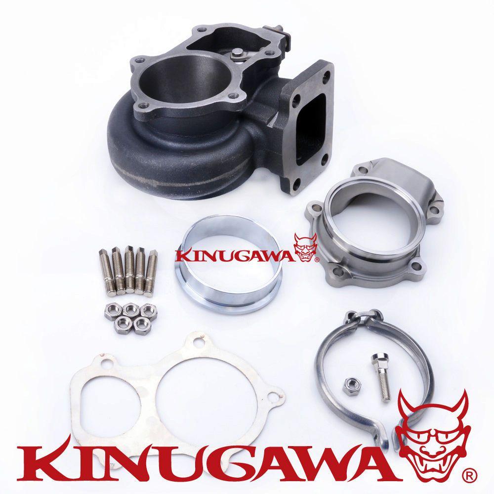 Kinugawa Turbo Turbine Housing Kit AR.63 T3 5 Bolt V-Band for Ford XR6 Falcon BA BF / for Garrett GT35R GTX35 GT3582R