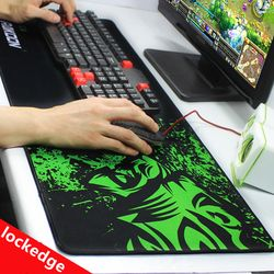 RAKOON Große Gaming Mouse Pad 300*800*2mm Geschwindigkeit/control Rastkante Mauspad Tastaturen Matte Grande Mousepad für CSGO Dota 2 LOL