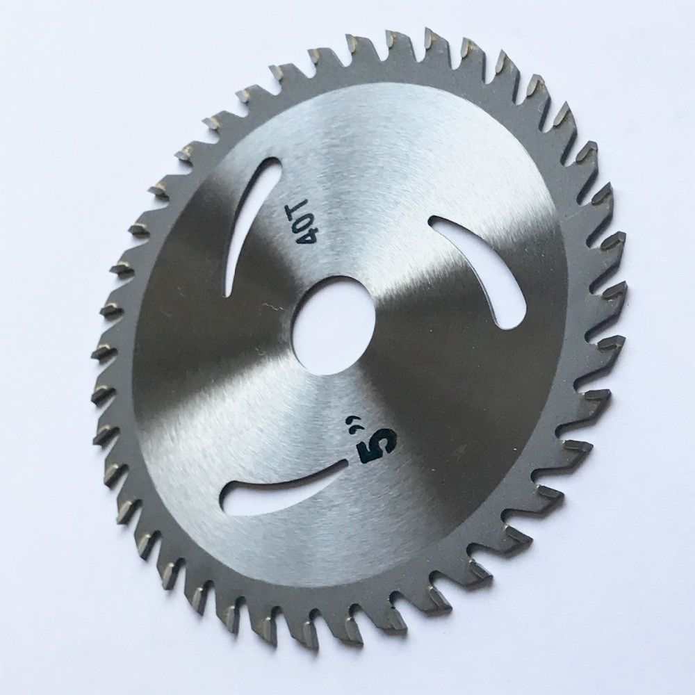 Livraison gratuite de 1 PC 125*22/20*30 T/40 T TCT lame de scie carbure à pointe de bois disque de coupe pour bricolage et décoration coupe de bois générale