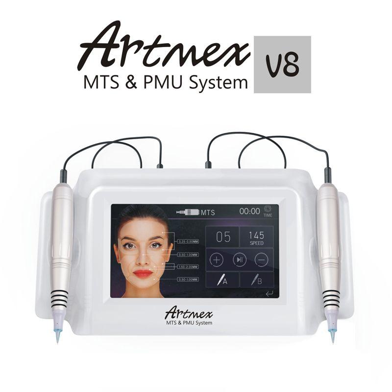 Direct Selling Artmex V8 Permanente Microblading Digital Permanent Makeup tattoo Machine micro blading pen Eyebrow Eyeliner Lips