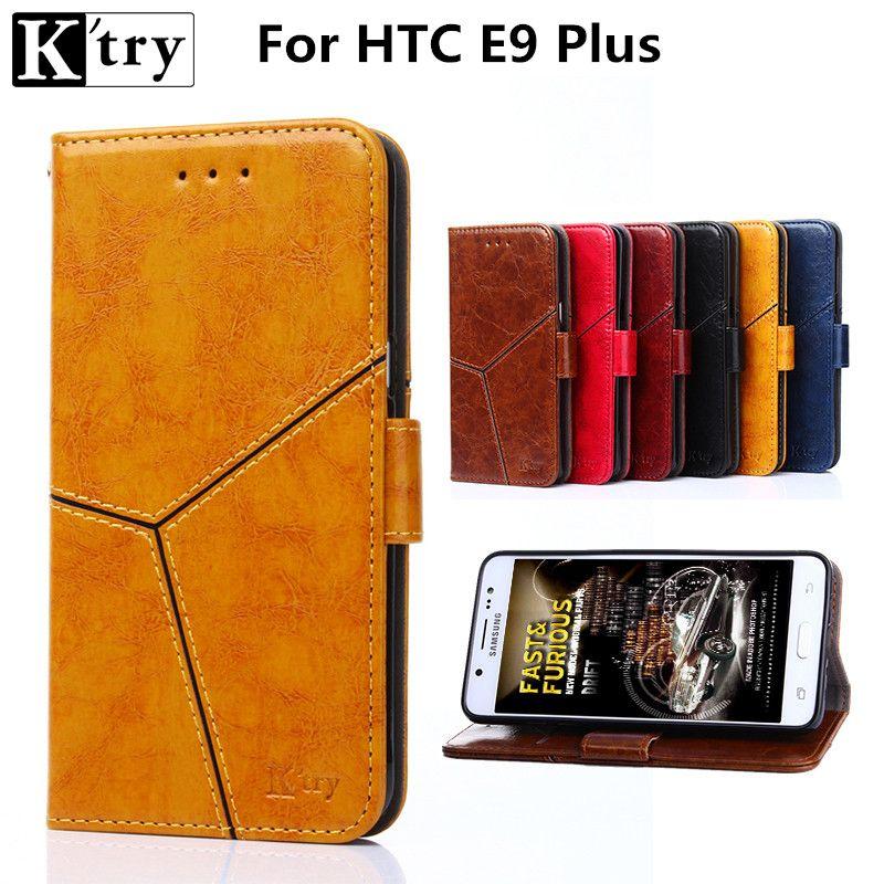 Für HTC E9 + Flip Abdeckung Leder Telefon Fall Für HTC EINS E9 plus Fall Brieftasche Kartenhalter & standfunktion Taschen Capa Fundas