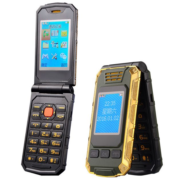 TKEXUN G5 Women Flip Phone With Double Dual Screen Camera Bluetooth Dual Sim Card 2.4 inch Touch Screen Luxury Cell Phone