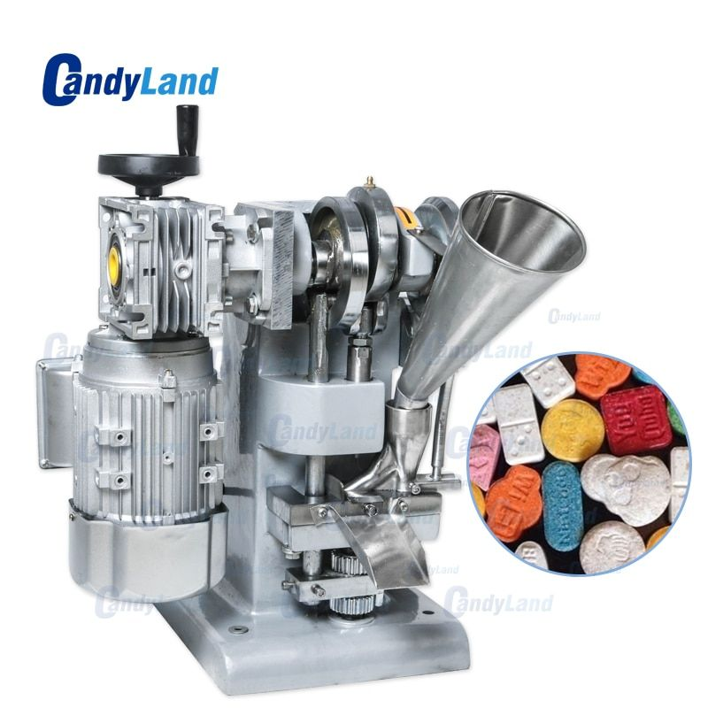CandyLand TDP1 Einzigen Schlag Candy Tablette, Der Maschine Einzelnen Stanzen Tablet Presse Pflanzliche Pille, Der Maschine Für DIY Mold