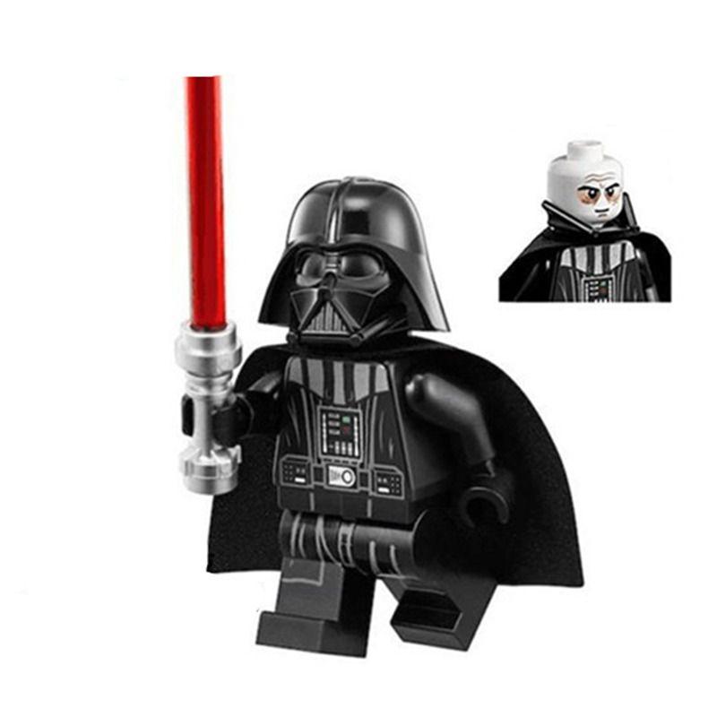 50pcs/set Marvel Movie Series Darth Vader Building Blocks Figures Set Compatible with Legoing Starwars