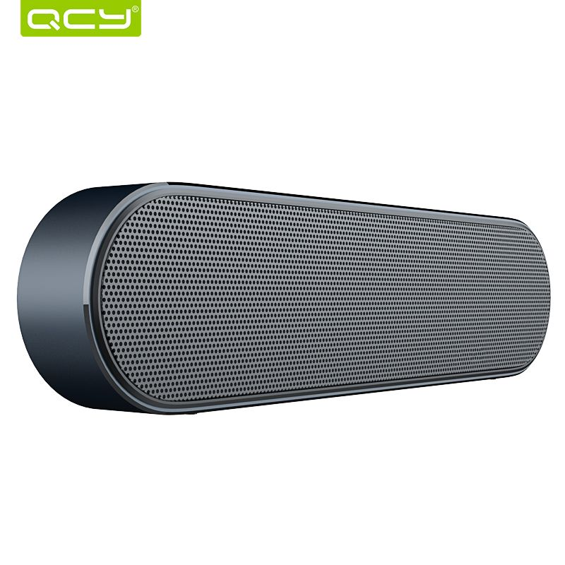 QCY B900 Bluetooth wireless speaker metal portable 3D stereo sound speakers system MP3 music audio player support AUX with MIC