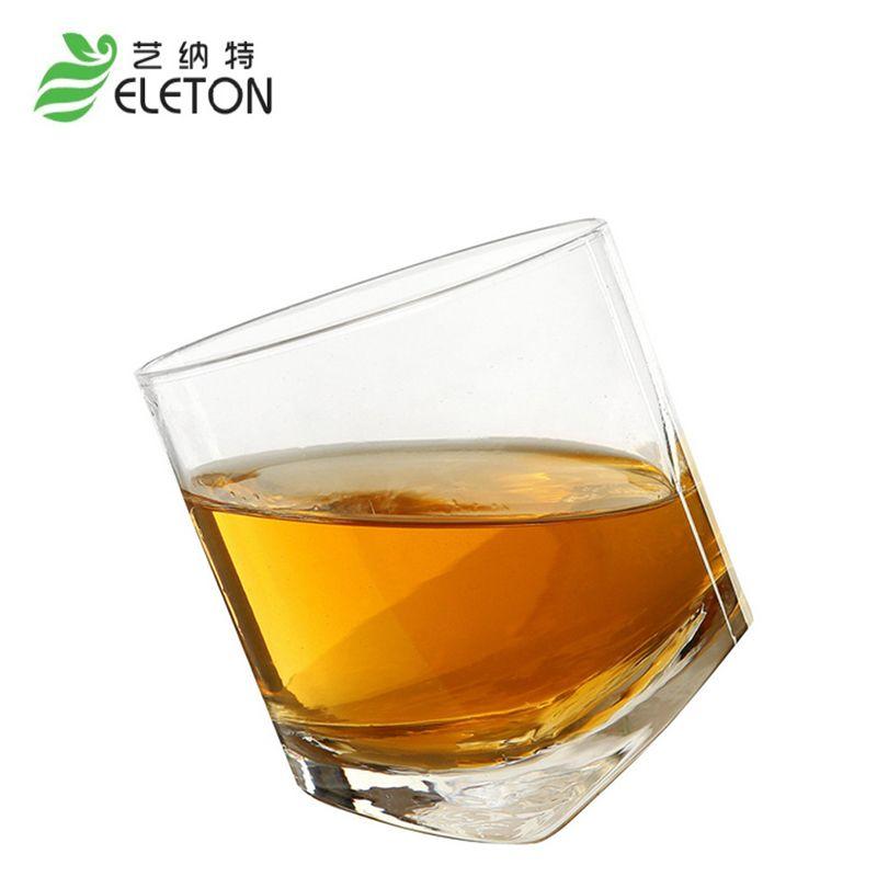 ELETON Cristal transparent en verre whisky tasse 300 ml brandy snifters bar ensemble Gobelet De Vin En Verre Tasse Verres à Bière cadeau