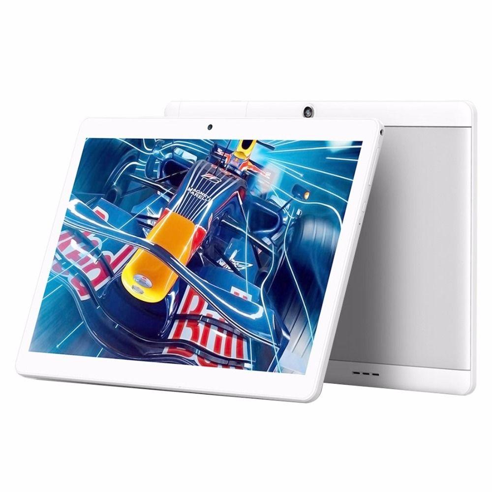 Original de 10.1 pulgadas Teclast X10 Tabletas Quad Core 1 GB/16 GB MTK6580 Quad Core 3G Phone Call Tablet 10.1 Android 6 OTG GPS