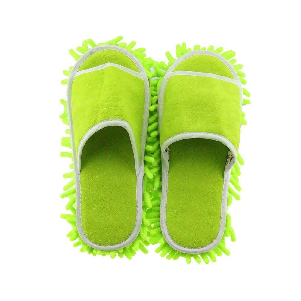 Multifonction microfibre Chenille sol poussière nettoyage pantoufles vadrouille essuyer chaussures perruques maison tissu propre couverture
