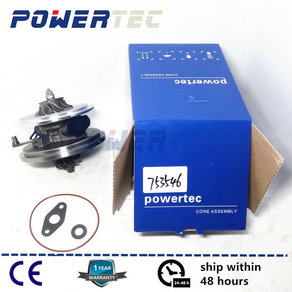 Cartridge turbo CHRA GTB1752VK For Land-Rover Freelander II 2.2 TD4 DW12B - turbine core 753546 6G9Q6K682CB 6G9Q6K682CA