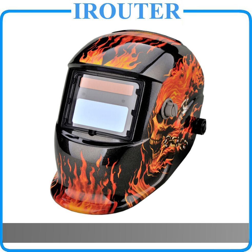 MOSKI, Solar Auto Darkening MIG MMA Electric Welding Mask/Helmet/welder Cap/Welding Lens for Welding Machine