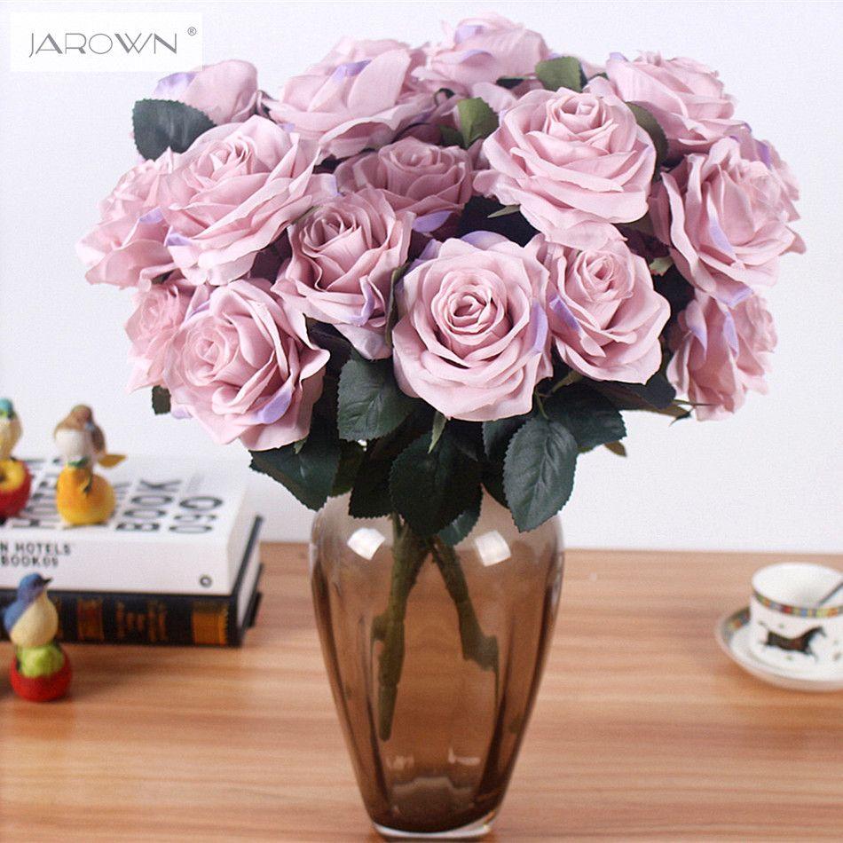 Искусственный шелк 1 пучок французская Роза цветочный букет поддельные цветок организовать стол Daisy Свадебные цветы Декор партии аксессуар...