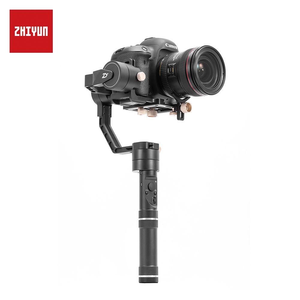 ZHIYUN Offizielle Kran Plus 3-Achse Handheld Gimbal Stabilisator für Spiegellose DSLR Kamera Unterstützung 2,5 kg POV Modus