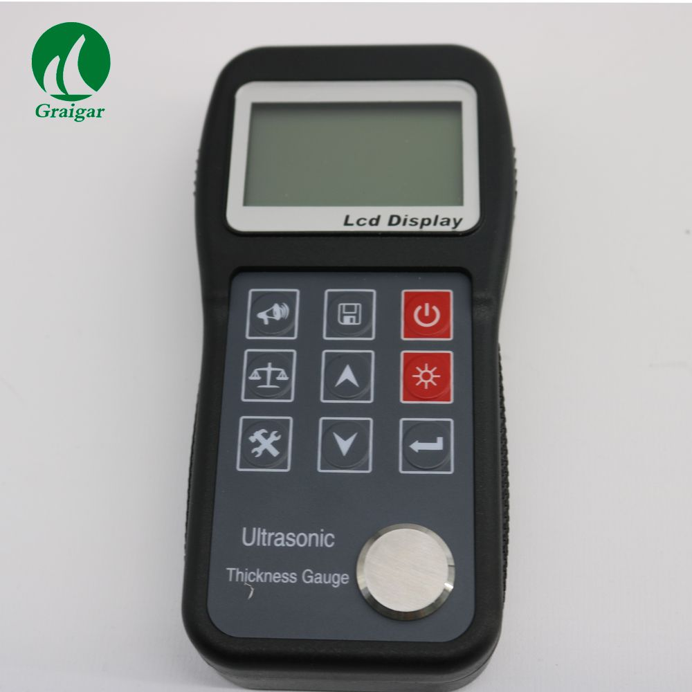 New KT320 Digital Ultrasonic Metal Thickness Gauge Measuring Range 0.75mm~300.0mm KT-320 by Fast Shipping