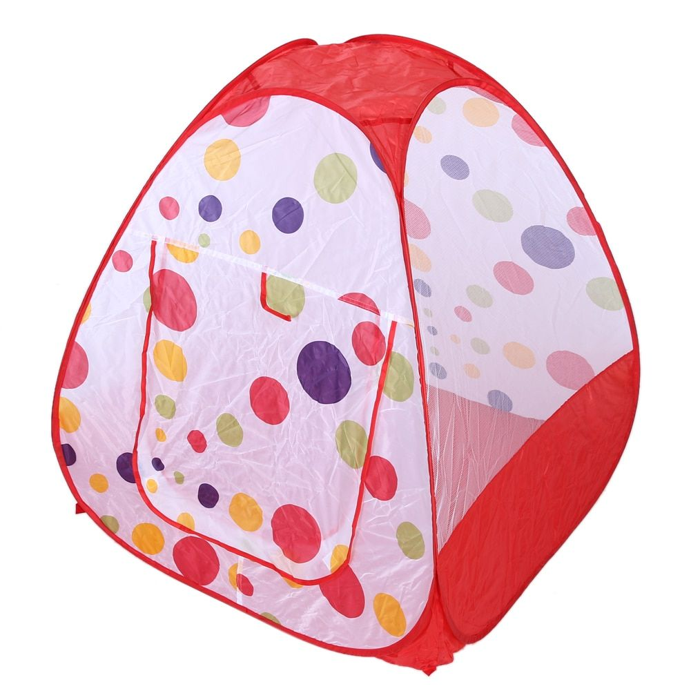 Baby Play Tent Indoor Outdoor Children's Tent House Portable Large Ocean Balls Great Game Playhouse Tent for Kids