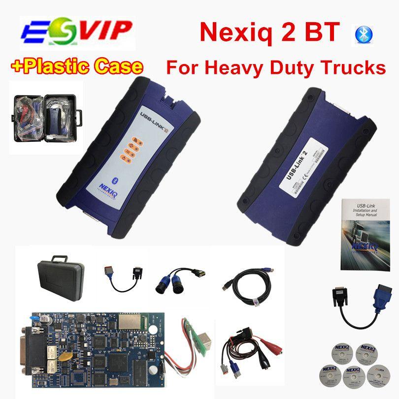 Nexiq2 USB Link with bluetooth Auto Heavy Duty Truck Nexiq 2 with Bluetooth Function Diagnostic Tool USB Link Diagnostic Tool