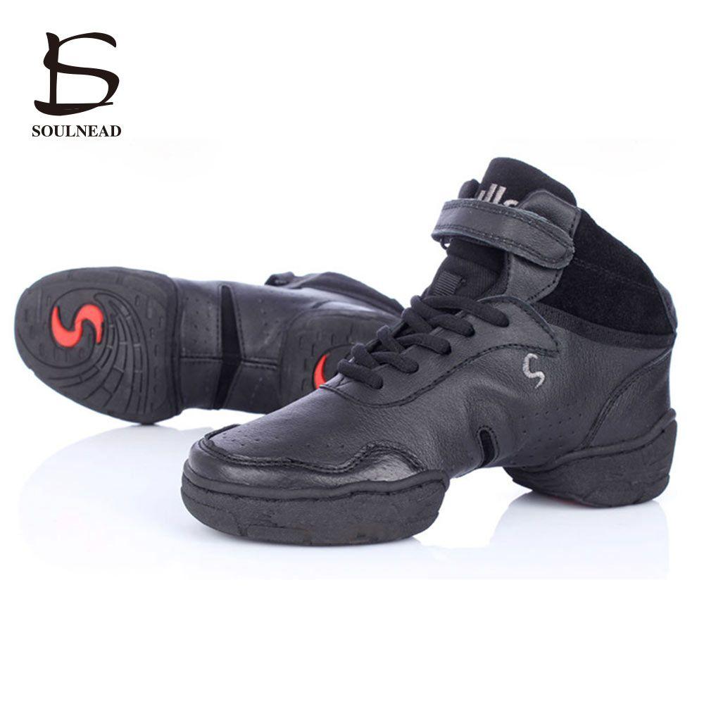 Белый, черный и розовый цвета Спортивная обувь для Для женщин и Для мужчин современный Сальса Джаз Танцы Обувь Пояса из натуральной кожи с д...