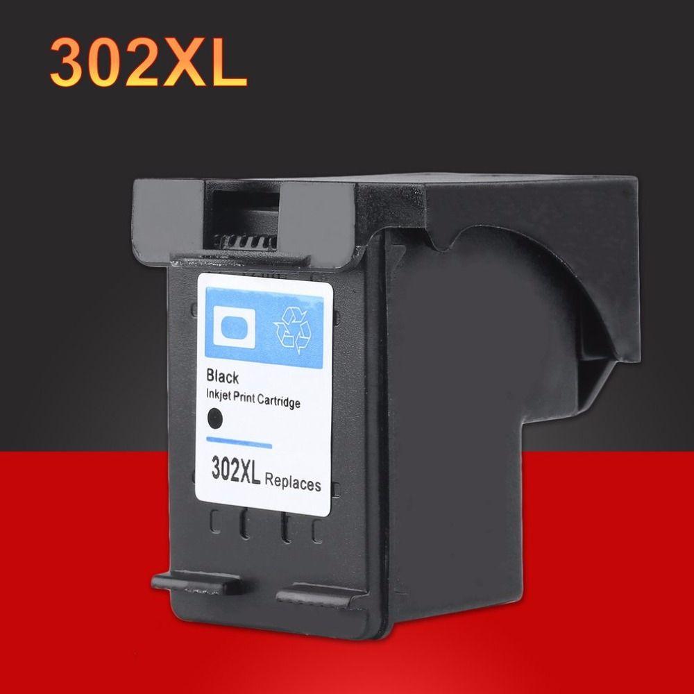 2pc For HP 302 XL Black Ink Cartridge for HP 302XL For HP Deskjet 2130 2135 1110 3630 3632 Officejet 3830 3834 4650 4655 Printer