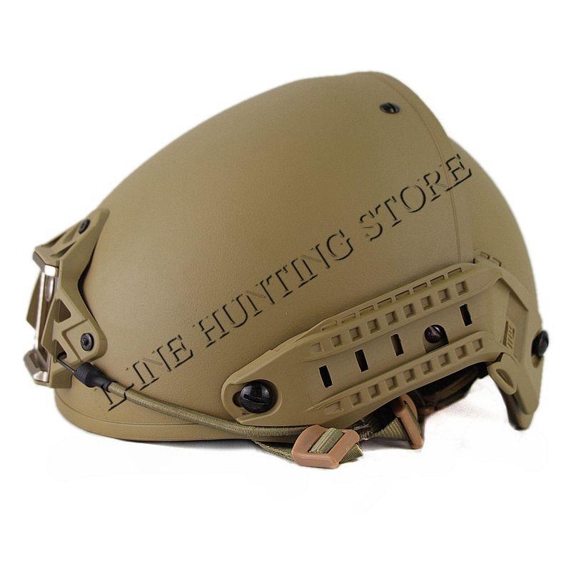 High Quality Heavy Duty Tactical Military Helmet Army Combat Helmet Air Frame Crye Precision Helmet Tan Color