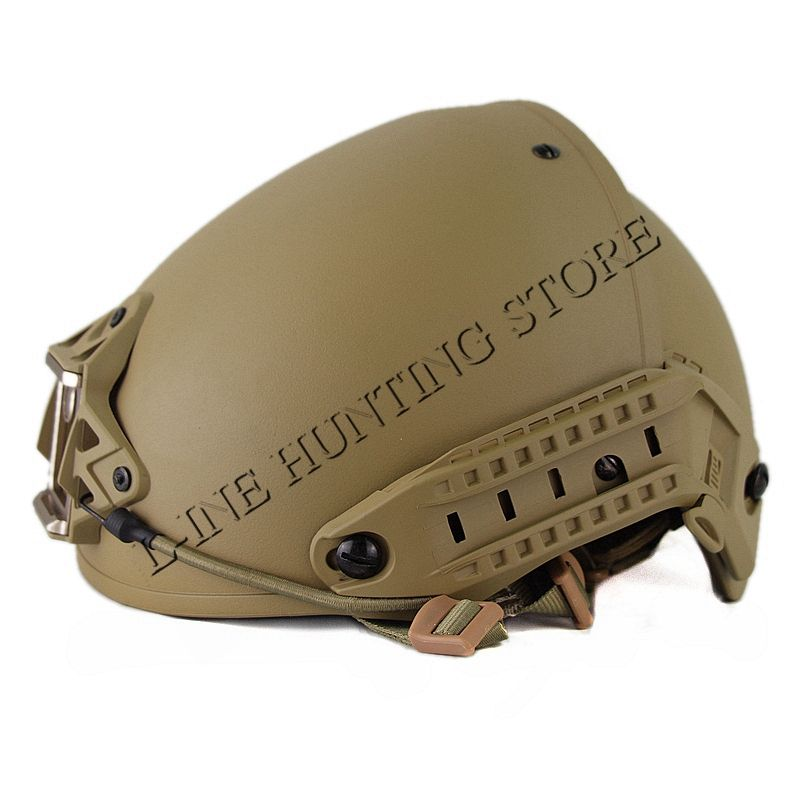 High Quality Heavy Duty Tactical Military Helmet Army Combat Helmet Air Frame Crye Precision Helmet Tan Color