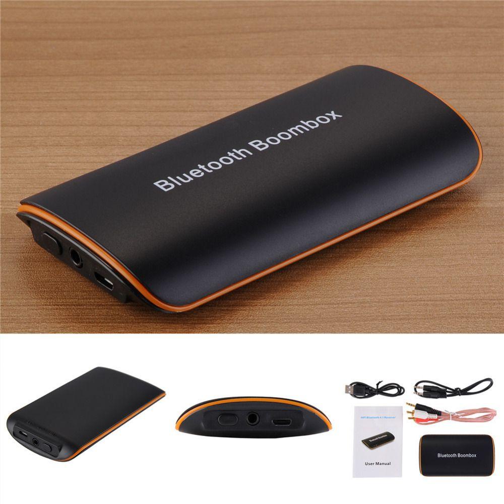 Haute-Fidélité Sans Fil Bluetooth Récepteur Boombox Hifi 3.5mm AUX Audio Stéréo Accueil surround Musique Adaptateur pour Appareils Bluetooth