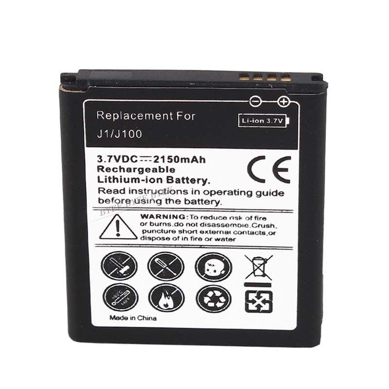 Haute qualité 3.7v 2150mah batterie de remplacement pour Samsung pour Galaxy J1/J100 Lithium Ion livraison gratuite en gros