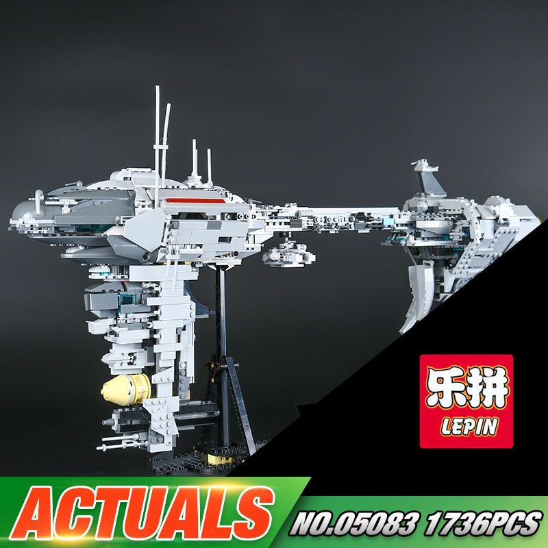 Lepin 05083 Star Series War 1736Pcs MOC The Nebulon Model B Set Medical Frigate Children Building Blocks Bricks Toys Gifts