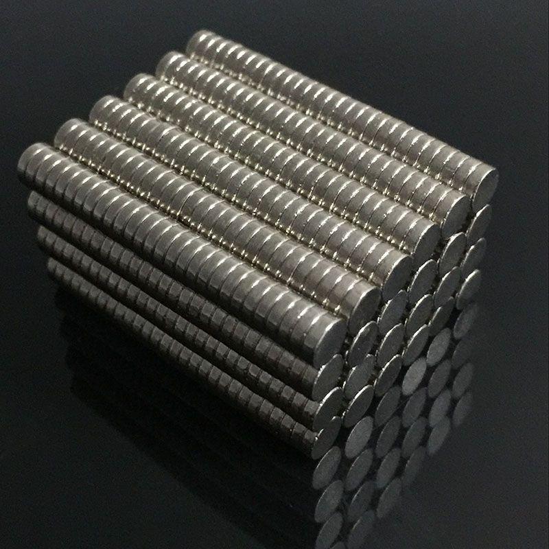 200/100pcs Bulk Small Round NdFeB Neodymium Disc Magnets Dia 4mm x 1mm N35 Super Powerful Strong Rare Earth NdFeB Magnet
