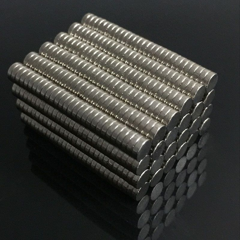 200/100pcs Bulk Small Round NdFeB Neodymium Disc Magnets Dia 4mm x 1mm N35 Super Powerful Strong Rare Earth NdFeB Magnet