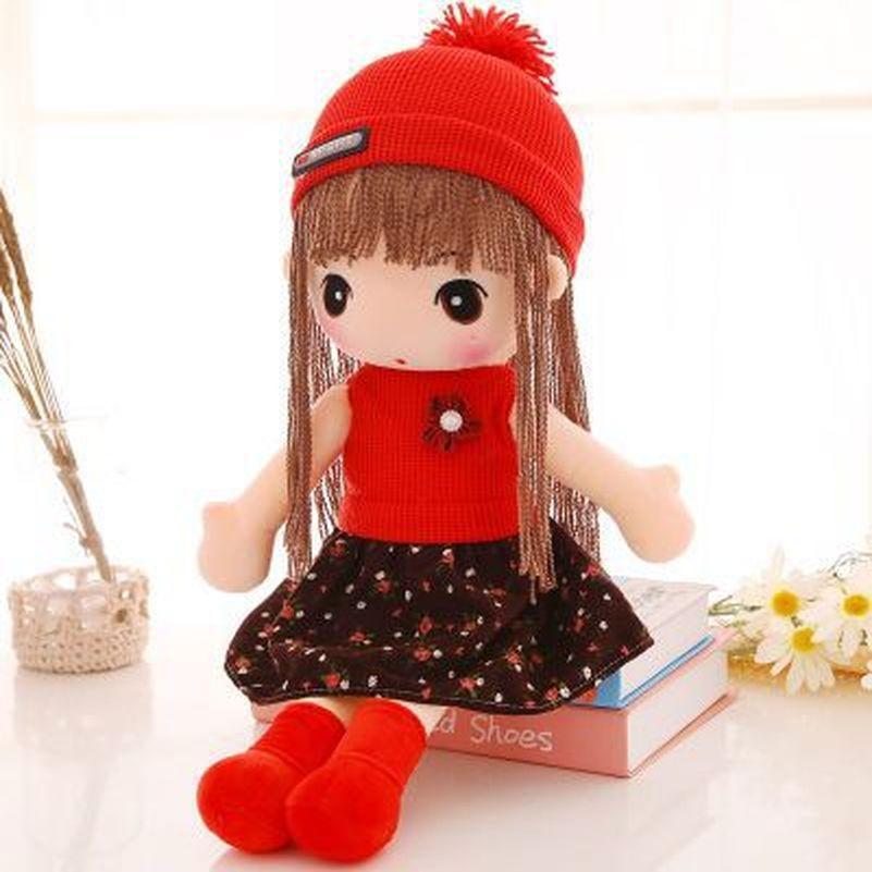 45 cm filles poupées fantaisie peluche bébé jouet en peluche mariage chiffon poupée mignon princesse poupées Valentine doux anniversaire cadeau de noël