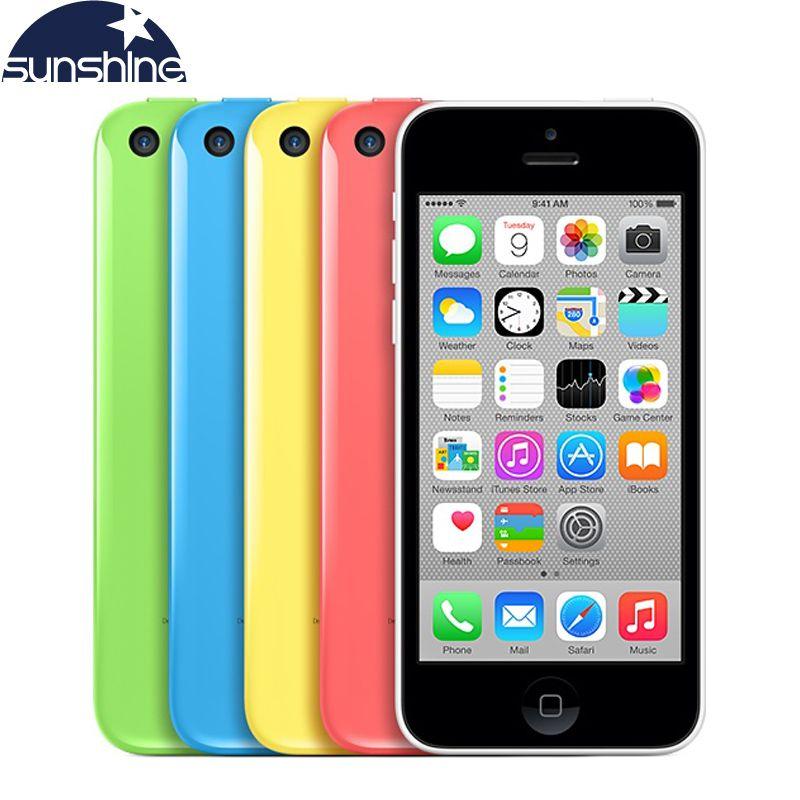 Débloqué Original Apple iPhone 5c Mobile Téléphone 4