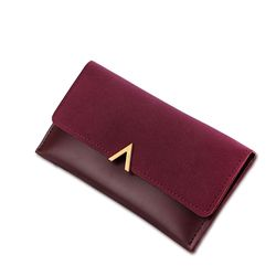 2018 New Female Wallet Leather Women Wallet Change Long Design Hasp Zipper Purses Clutch Money Coin Card Holders Wallet Carteras