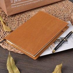 Moterm Vintage Kulit Notebook Planner Buku A5 A6 untuk MD Hobonichi Sepupu Asli Bullet Journal Menggambar Sketchbook