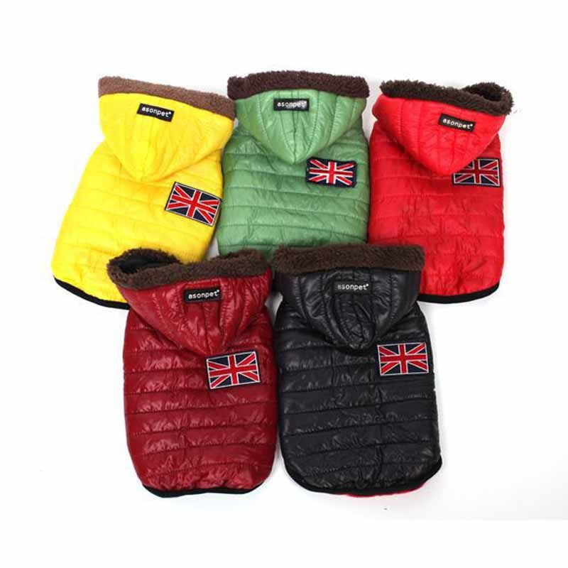 Autumn Winter Warm Dog Clothes for Small Dog Jacket Dog Coats Pet Puppy Cat Clothes Products for Animals