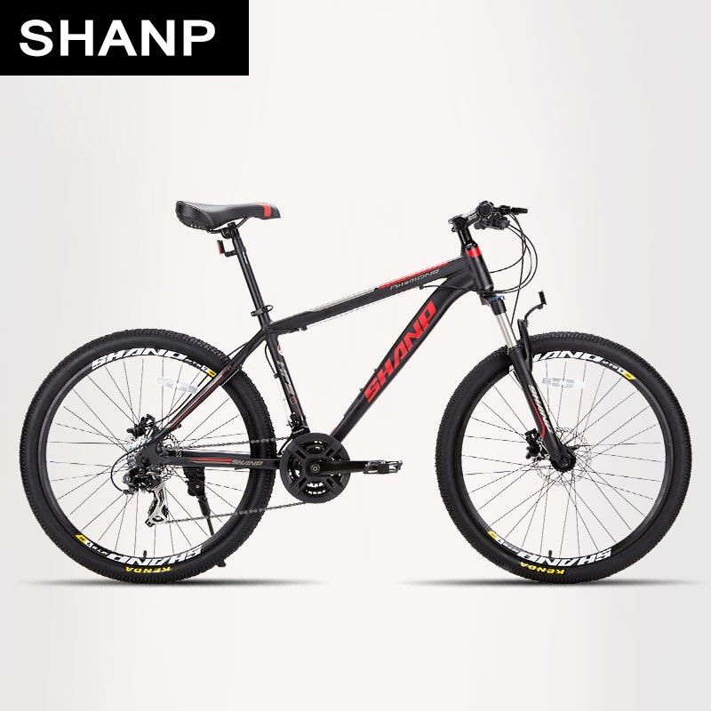 SHANP Mountain Bike Aluminum Frame 21/24 Speed Shimano 26