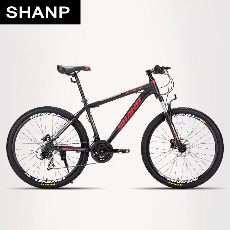 SHANP Mountain Bike Aluminum <font><b>Frame</b></font> 21/24 Speed Shimano 26 Wheel /27.5Wheel/29Wheel