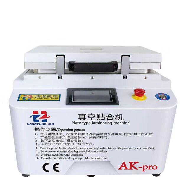 2018 NEUE AK PRO iPhone reparatur maschine oca laminator Vakuum laminierung maschine reparatur lcd renovieren maschine oca laminator maschine