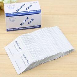 36 шт. антисептический изопропиловый спирт тампоны кусок протирать антисептический уход за кожей первой помощи