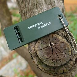 Hot sell Survival Whistle First Aid Kits Outdoor Emergency Signal Rescue Camping Hiking outdoor sport referee practical
