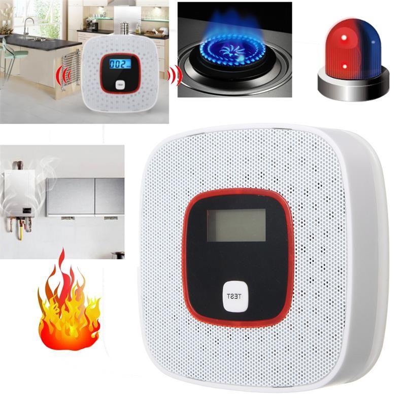 Home Security High Sensitive Voice Warning LCD CO Carbon Monoxide Tester Poisoning Sensor Alarm Detector MCO805D