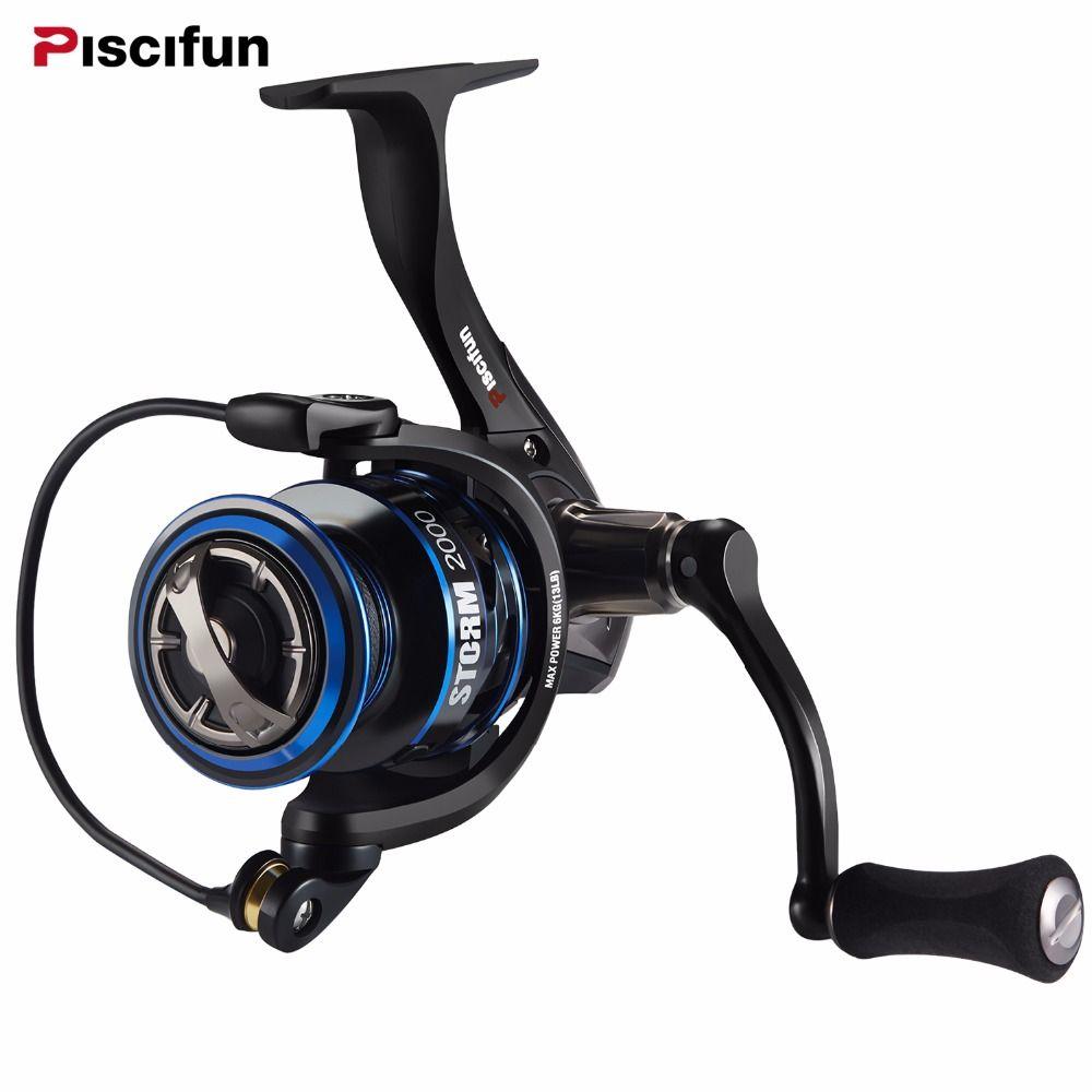 Piscifun 6.2:1 High Gear Ratio 2000,3000,4000,5000 Series 11BBs Spinning Fishing Reel Max Drag 10KG Fishing Spinning Reel