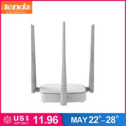 Tenda N318 300 Мбит/с Беспроводной Wi-Fi маршрутизатор Wi-Fi репитер, мульти Язык прошивки, маршрутизатор/WISP/ретранслятор возможность работы в режиме ...