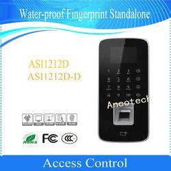 Gratis Pengiriman Dahua Akses Kontrol Keyboard Sentuh Layar LCD Tahan Air Sidik Jari Standalone DHI-ASI1212D