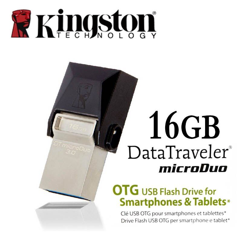 Kingston USB 3.0 stylo lecteur Smartphone Micro mémoire 16gb 32gb 64gb Portable stockage bâton microDuo OTG usb clé USB clé usb
