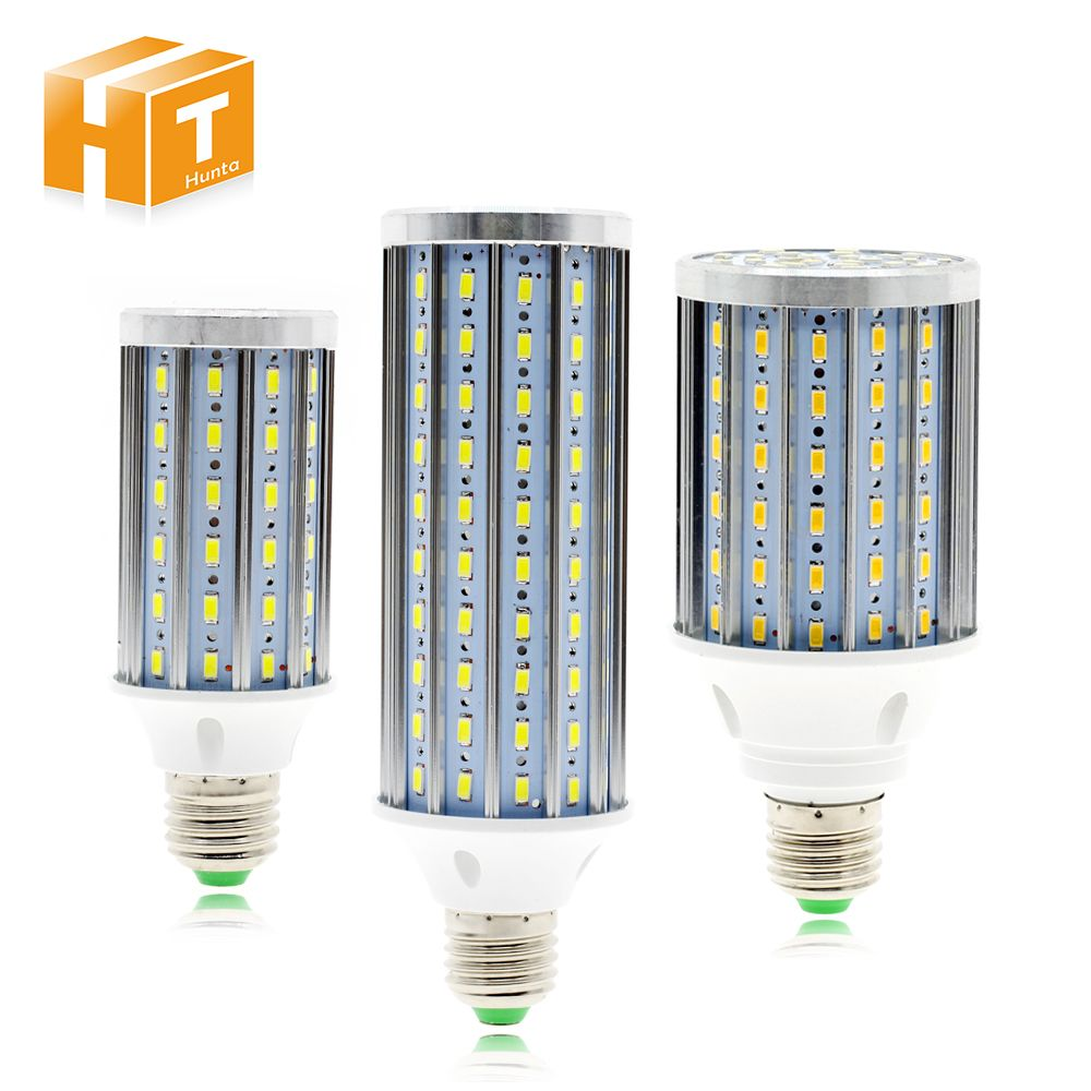 E27 LED Mais Birne 5730 Aluminium PCB High Power 7 watt 12 watt 15 watt 18 watt 21 watt 23 watt 26 watt 35 watt AC85-265V LED Lampe Licht