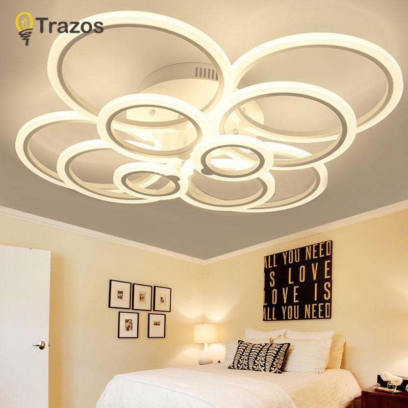 Round Designer Minimalist Modern led ceiling lights for living Study room bedroom AC85-265V modern led ceiling lamp fixtures