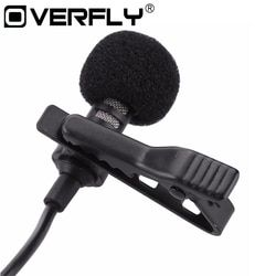 Collar Microphones Phone Microphone 3.5 mm Jack Hands-free Lapel Mini Wired Condenser Karaoke OK Mic for iPhone Samsung Mic