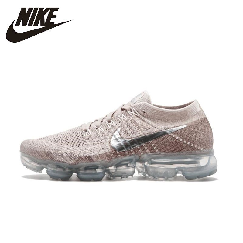 NIKE Air VaporMax Flyknit Original Womens Running Shoes Mesh Breathable Stability Height Increasing Sneakers For Women Shoes