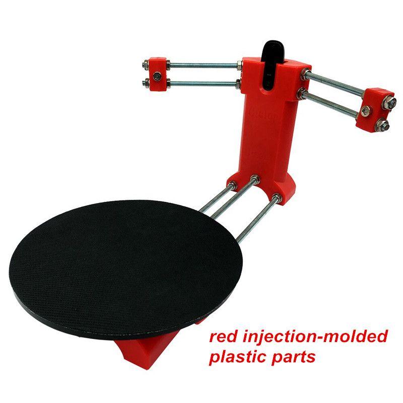 HE3D Open source DIY 3D scanner kit ,advanced laser scanner Red plastic injection molding parts