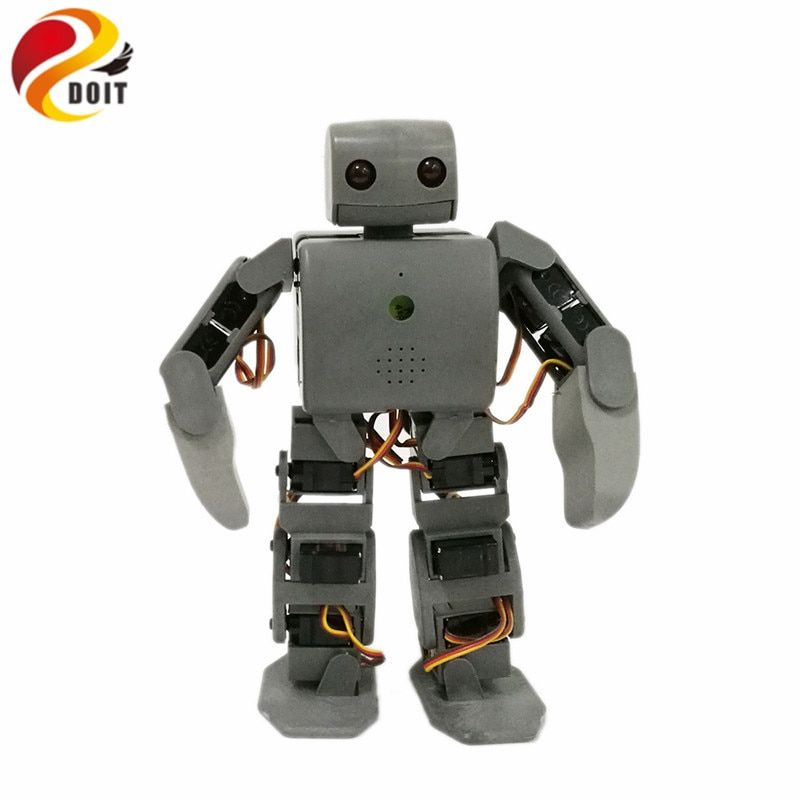 DOIT 1 set Plen 2 Humanoid Robot with Control Board+ Servos+ Charger for DIY Arduino Project