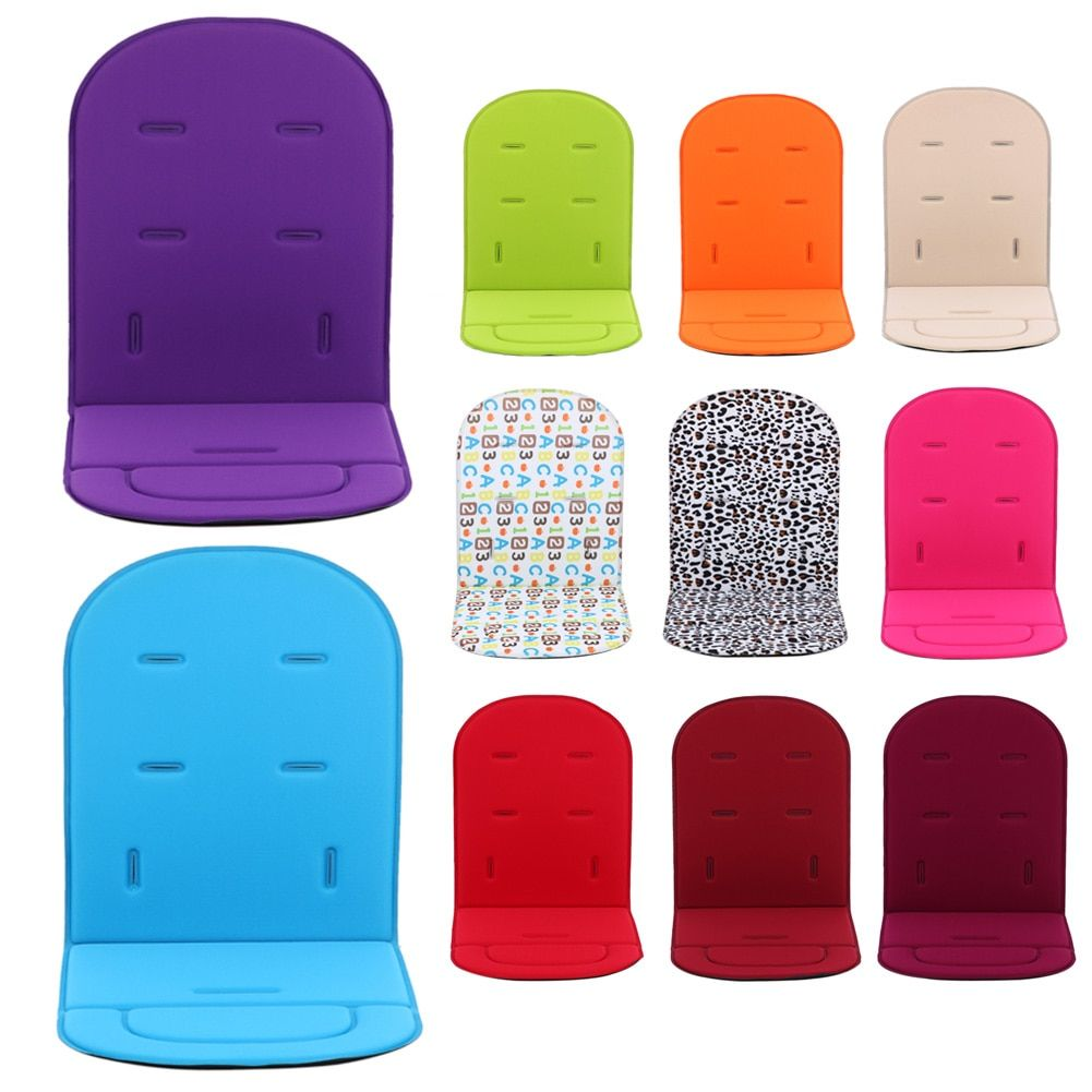 Baby Stroller Accessories Pad Kids Pushchair Car Cart High Chair Seat Trolley Soft Mattress Baby Stroller Cushion Accessories